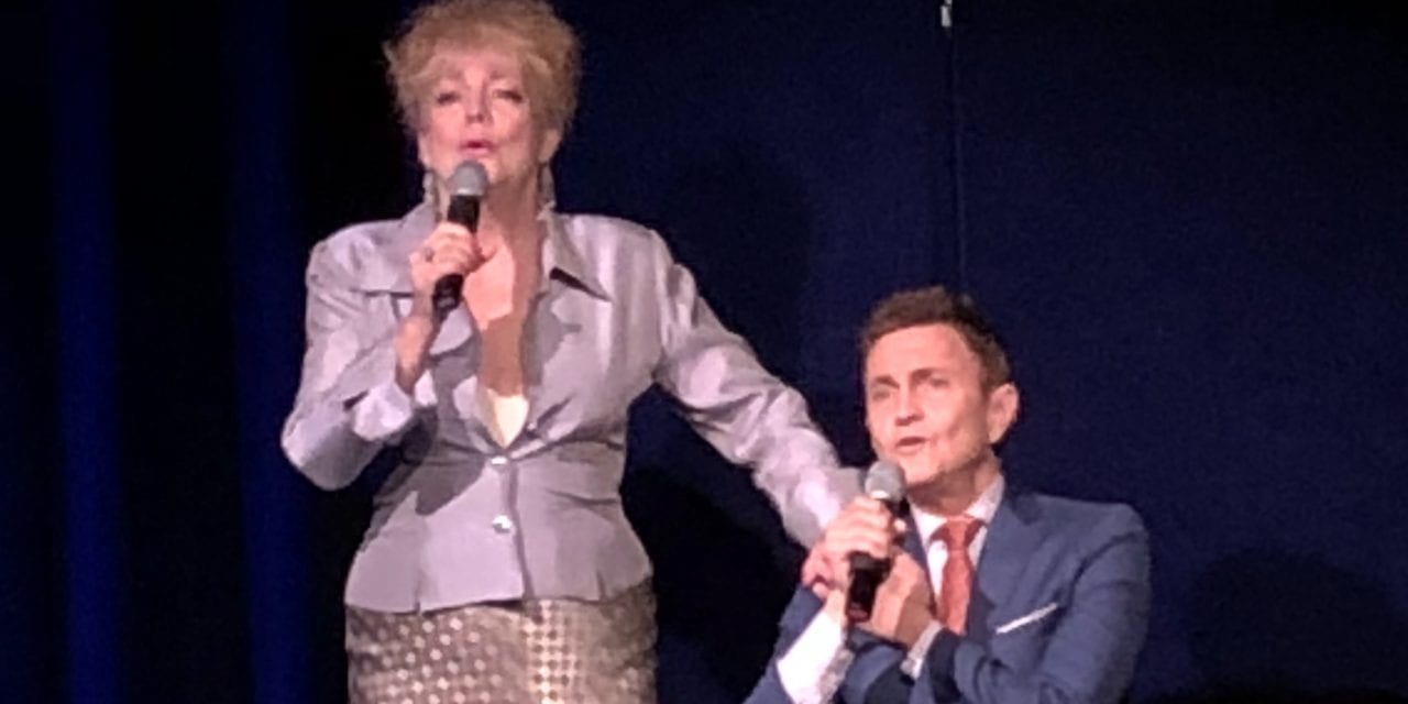 "KT Sullivan and Jeff Harnar, ""#sondheimmontage"" at Laurie Beechman Theatre, August 15, 2018"