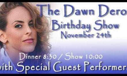 Dawn Derow @ The Beach 11/24  9:30pm