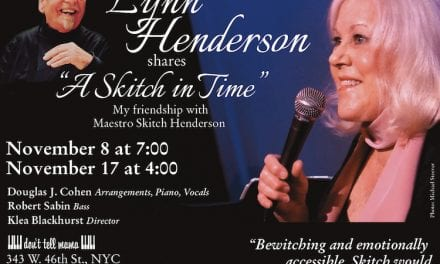 Lynn Henderson @ Don't Tell Mama 11/8 & 17