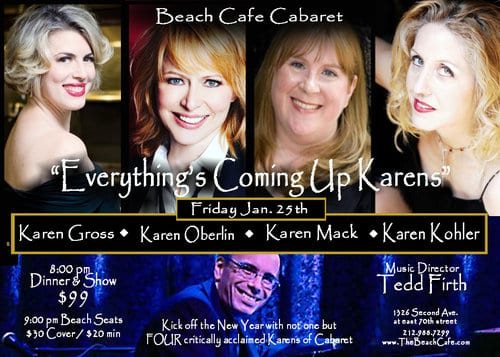 1/25/19 Everything's Coming Up Karens @ The Beach 9:30