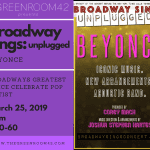3/25/19 Broadway Sings Unplugged @ TGR42