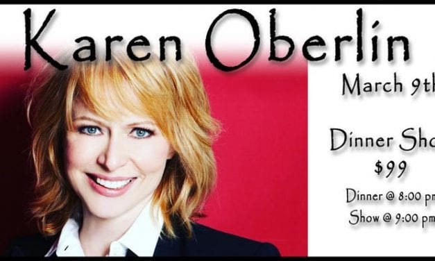 3/9/19 Karen Oberlin @ The Beach 9:30PM