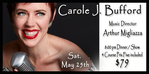 05/25/19 Carole J. Bufford @ Beach 9:30 pm