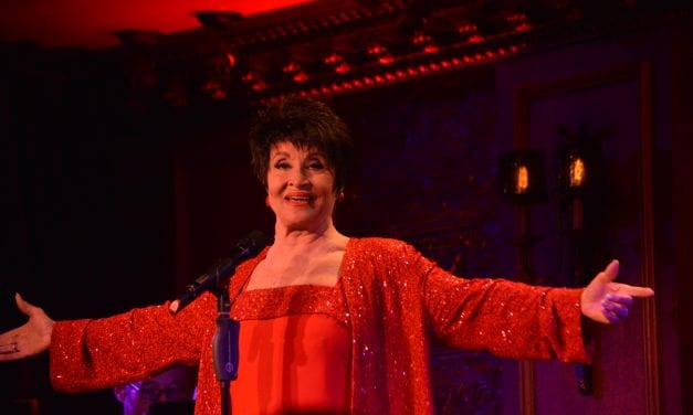 CHITA RIVERA @ FEINSTEIN'S 54/BELOW MAY 30TH