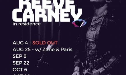 09/8 & 22nd Reeve Carney @ GR42 9:30