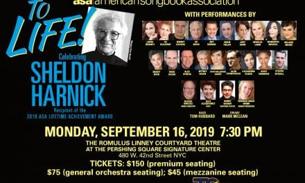 09/16/19 – ASA Gala Celebrating Sheldon Harnick