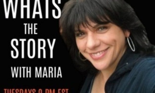 Tuesdays @ 9:00  pm What's The Story with Maria?