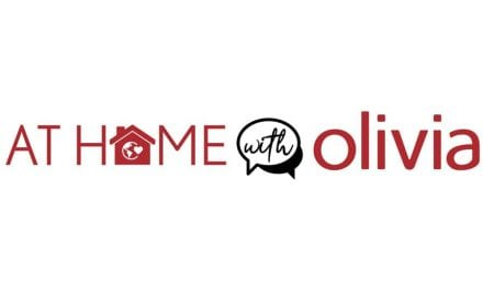 WEDNESDAY, April 29 @ 5:00 pm EST At Home with Olivia