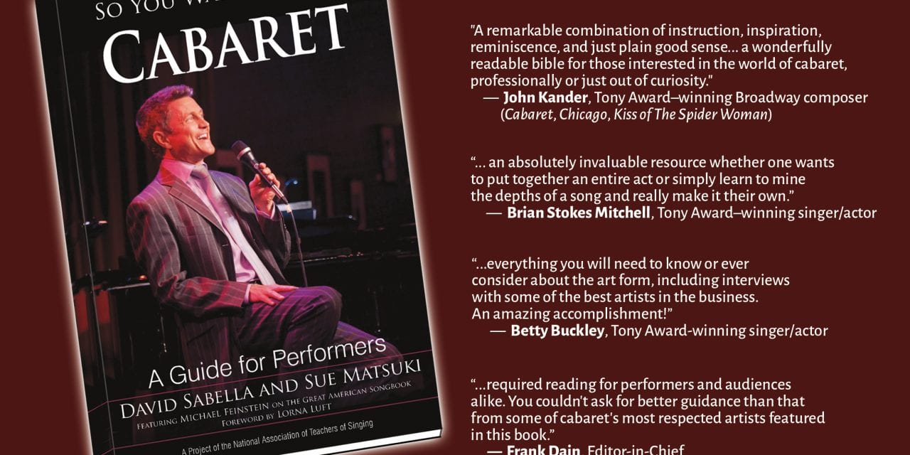 NOW ON SALE! So You Want to Sing Cabaret