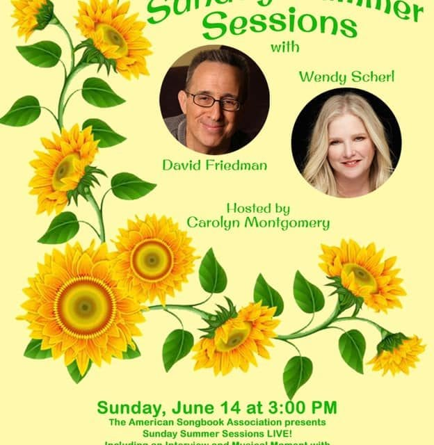 Sunday 06/14 3:00 ASA Fundraiser Interview with Friedman & Scherl