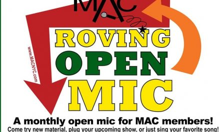 09/25 @ 7:00 pm MAC Roving Open Mic