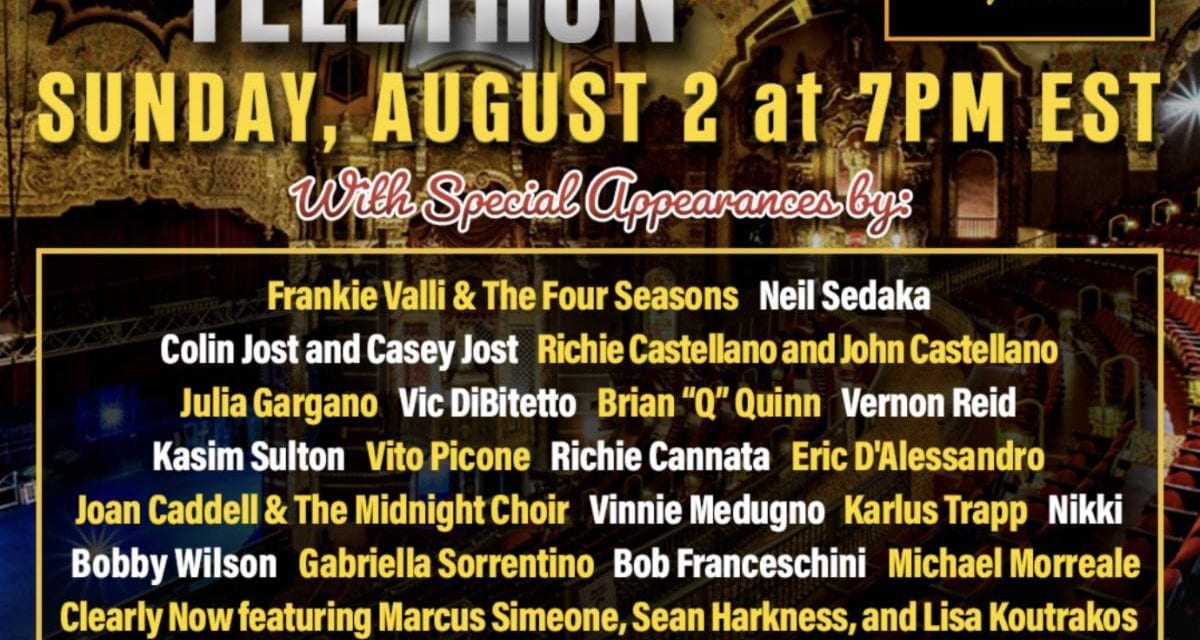 08/02 @ 7:00 pm TELETHON: St. George Theater