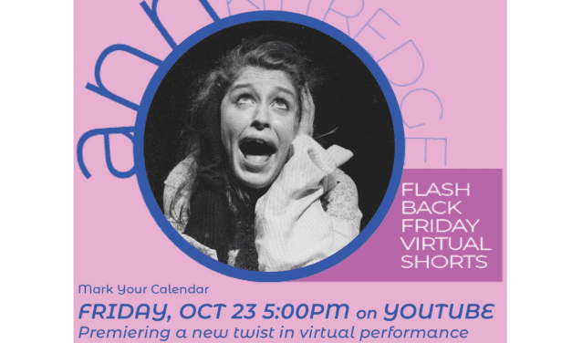 "10/23/20 – Ann Kittridge in ""Flashback Fridays"""