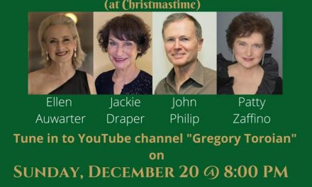 "Sun., 12/20 @ 8:00 pm EST ""To Be Together At Christmastime"""