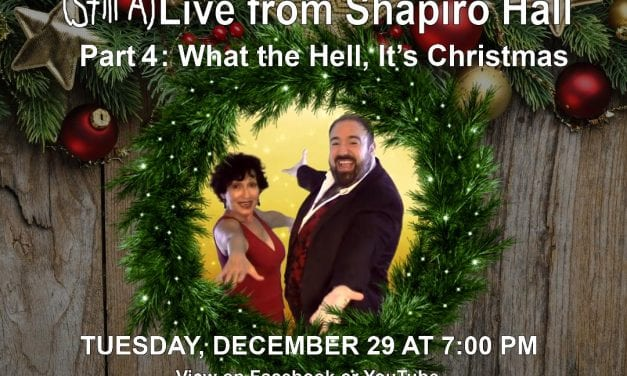 12/29 @ 7:30 pm (Still A)Live fro Shaprio Hall, Part 4
