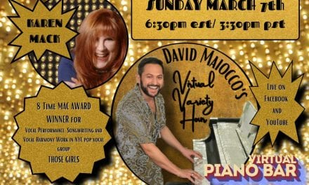 Sun., 3/7 @ 6:30 pm David Maiocco's Virtual Variety Hour