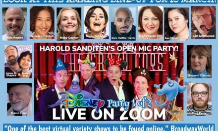 Wed., 3/10 & Thur., 3/11! 2:00 pm EST / 7:00 pm UK – Harold Sanditen's Open Mic Celebrates Disney