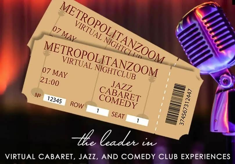 Sun., 4/11 @ 9:00 pm EDT Metropolitan Zoom Celebrates their 1 Year Anniversay