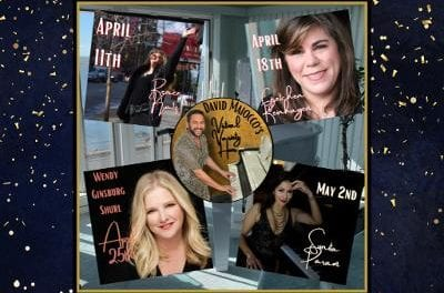 Sun., 4/11 @ 6:30 pm David Maiocco's Virtual Variety Hour Celebrates da Ladies! This week…Renee Katz!