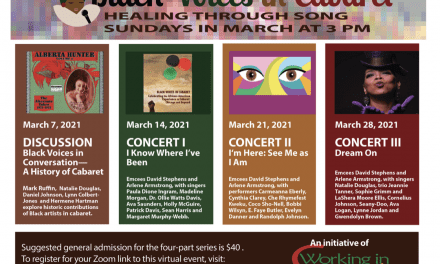 Sundays in March 3:00 pm Black Voices in Cabaret March Series