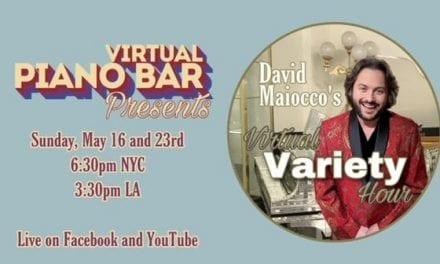 Sun., 5/16 @ 6:30 pm David Maiocco's Virtual Variety Hour