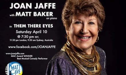 """Sat., 4/10 @ 7:30 pm EDT Joan Jaffe in """"Them There Eyes"""""""
