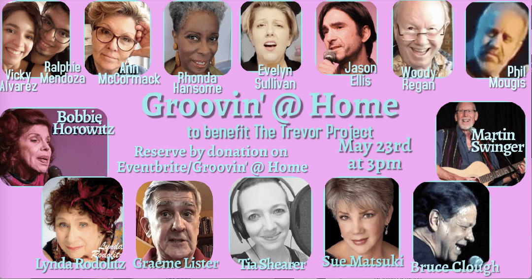 Sun., 5/23 @ 3:00 pm Groovin' @ Home to Benefit The Trevor Project