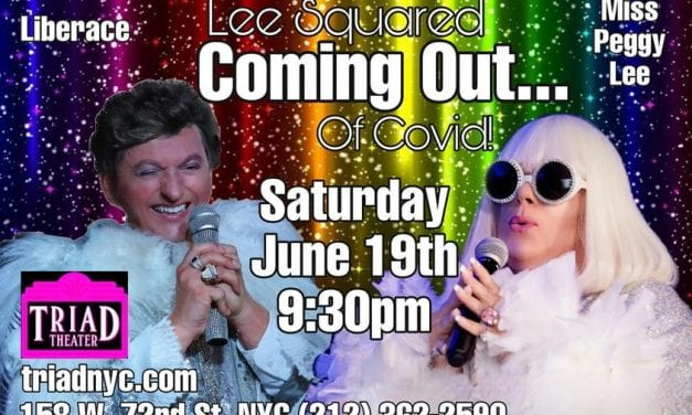 Sat., 6/19 @ 9:30 pm Lee Squared LIVE @ The Triad