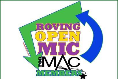 Tues., 10/26 from 7:00-9:30 pm MAC Roving Open Mic @ DTM